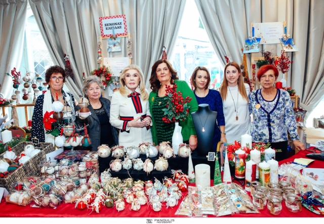 ... στο Χριστουγεννιάτικο Bazaar του Συλλόγου Φίλων Παιδιών με καρκίνο « ΕΛΠΙΔΑ». Φέτος η συγκίνηση ήταν ακόμα μεγαλύτερη καθώς μέρος των εσόδων του  Bazaar ... 2d913ee7f30