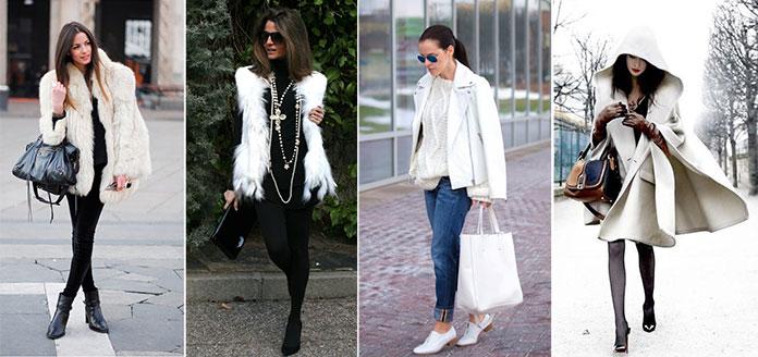 Πέρα από το παλτό και το σακάκι σε άσπρο χρώμα υπάρχουν πολλά ακόμη  πανωφόρια για να φορέσετε λευκό το Χειμώνα. Δοκιμάστε μια κάπα 54ff918dc70