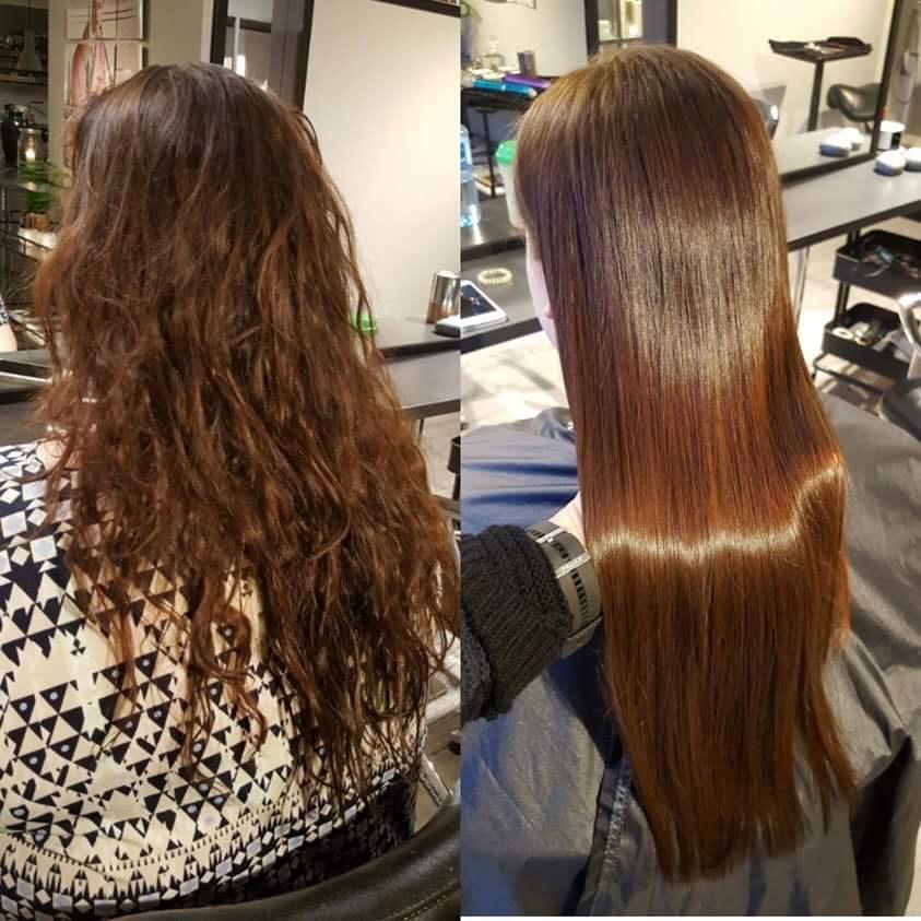 Τι είναι η θεραπεία κερατίνης και τι κάνει στα μαλλιά σας - Να πως ... 0f7d9bacede