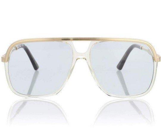 98ccd18a3d Ο οίκος μόδας Gucci είναι η αλήθεια ότι μας έχεις συνηθίσει στα ιδιαίτερα  σχήματα και κοψίματα στα γυαλιά ηλίου του. Κλασικό όμως παραμένει το  τετράγωνο ...
