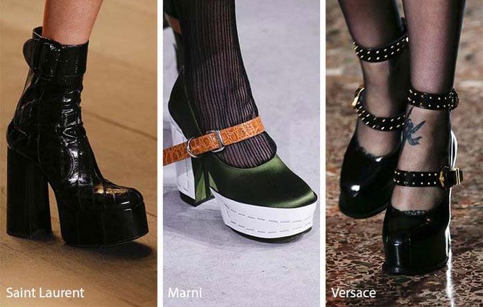 740d351bced Πρόκειται για τα παπούτσια που διαθέτουν έναν ενιαίο χοντρό πάτο που  προσθέτει μερικούς πόντους στο ανάστημα σας. Στις πασαρέλες των διάσημων  οίκων μόδας ...