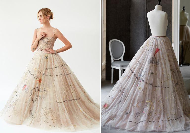 9c8fd46209 Κιάρα Φεράνι  Δείτε βήμα-βήμα πώς ο οίκος Dior έφτιαξε το νυφικό της ...