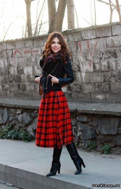 Έχετε σκωτσέζικη φούστα  Ιδού 29 φανταστικά γυναικεία outfits που θα ... a7c13b62c50