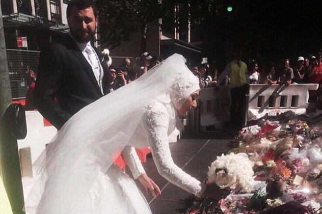 Τον γύρο του κόσμου κάνει η φωτογραφία αυτής της Μουσουλμάνας νύφης ... 31b7ba8123f
