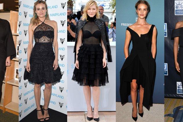 ec0eaeea4d75 Little black dress  Το περίφημο μικρό μαύρο φόρεμα έχει την τιμητική ...