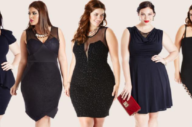 Οι παχουλές προτιμούν σκούρα φορέματα ενώ οι παχουλοί μαύρα ή ...