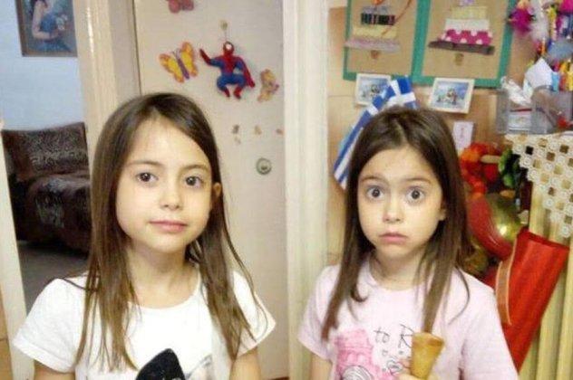 Αποτέλεσμα εικόνας για φονικη πυρκαγια διδυμα κοριτσακια