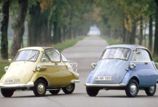 Vintage: H Isetta ήταν το μικρότερο και πιο cool αυτοκίνητο στον κόσμο - Μαζί με τον «σκαραβαίο» & το «500αράκι» - Κυρίως Φωτογραφία - Gallery - Video
