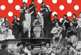 Ταξίδι στον κόσμο του Φλαμένκo: 3 Παρασκευές από την compañia flamenca ALGARABÍA  - Κυρίως Φωτογραφία - Gallery - Video