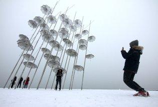 Παγωμένη όλη η βόρεια Ελλάδα: -18 βαθμούς σε Φλώρινα και Πτολεμαΐδα, πολλά προβλήματα σε Θεσσαλονίκη - Κυρίως Φωτογραφία - Gallery - Video