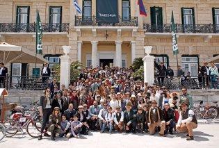 Το Poseidonion Grand Hotel διοργάνωσε με επιτυχία για 4η συνεχή χρονιά το Tweed Run στις Σπέτσες - Κυρίως Φωτογραφία - Gallery - Video