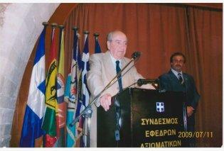 Με 4 καταπληκτικές μαντινάδες ο Πρόεδρος των Βρακοφόρων Κρήτης Στέλιος Κιαγιαδάκης αποχαιρετά τον Κω/νο Μητσοτάκη - Κυρίως Φωτογραφία - Gallery - Video
