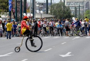 Κυκλοφοριακές ρυθμίσεις ενόψει του αυριανού 24ου Ποδηλατικού Γύρου της Αθήνας - Κυρίως Φωτογραφία - Gallery - Video