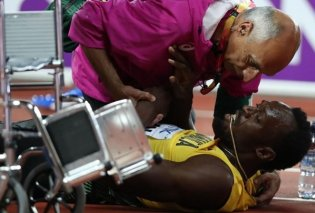 Βίντεο - το άδοξο τέλος ενός μέγιστου υπεραθλητή - Τραυματίστηκε στην τελευταία του κούρσα ο Μπολτ - Κυρίως Φωτογραφία - Gallery - Video