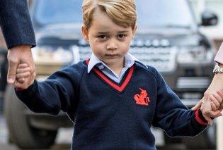 Βίντεο: αγχωμένος ο πριγκιπάκος Τζορτζ πηγαίνοντας πρώτη μέρα στο σχολείο με τον μπαμπά του - Κυρίως Φωτογραφία - Gallery - Video