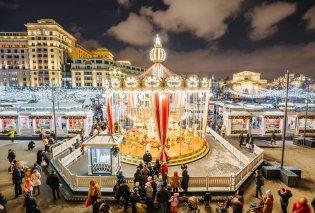 Εκπληκτικές Χριστουγεννιάτικες φώτο από την λαμπερή Μόσχα- Απίθανα φωτάκια και δεντράκια  - Κυρίως Φωτογραφία - Gallery - Video