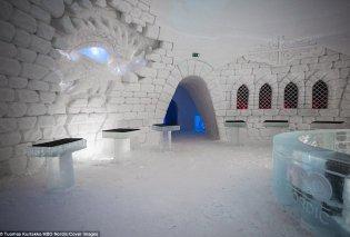 Φώτο & βίντεο: Αυτό είναι το ξενοδοχείο από πάγο με θέμα το Game of Thrones  - Κυρίως Φωτογραφία - Gallery - Video