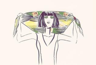 Τα ρούχα -έργα τέχνης- της Herse στη βρετανική Vogue - Η Έρση Λιάκουρη συνεχίζει να κατακτά τον κόσμο (ΦΩΤΟ) - Κυρίως Φωτογραφία - Gallery - Video