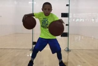 Μπασκετμπολίστας από κούνια: Αυτός ο πιτσιρίκος θα σας αφήσει άφωνους με τα κόλπα του στο γήπεδο! (ΒΙΝΤΕΟ) - Κυρίως Φωτογραφία - Gallery - Video