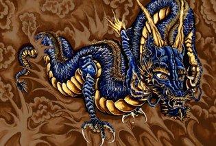 Greek Mythos: Λάδωνας ο δράκος με τα 100 κεφάλια, γιος του Τυφώνα & της Έχιδνας αδελφός του Κέρβερου  - Κυρίως Φωτογραφία - Gallery - Video