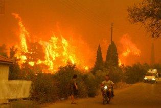 Δύσκολες ώρες στην Ηλεία: Μάχη όλη τη νύχτα με τις φλόγες σε τρία μέτωπα - Εκκενώθηκαν σπίτια (ΒΙΝΤΕΟ) - Κυρίως Φωτογραφία - Gallery - Video