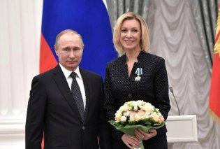 """Μαρία Ζαχάροβα: Η σέξι Ρωσίδα με την γλώσσα """"φαρμάκι"""" για την Συρία & κολλητή του Πούτιν για την επίσημη προπαγάνδα (ΦΩΤΟ - ΒΙΝΤΕΟ) - Κυρίως Φωτογραφία - Gallery - Video"""