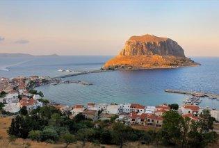 """ΒΙΝΤΕΟ: Από ψηλά το ωραιότερο """"οικόπεδο"""" της Ελλάδας- Η Μονεμβασιά σε όλο της το μεγαλείο - Κυρίως Φωτογραφία - Gallery - Video"""