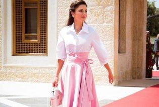 Η φούστα που ξετρέλανε την Ράνια της Ιορδανίας & την Μαριάννα Βαρδινογιάννη (ΦΩΤΟ) - Κυρίως Φωτογραφία - Gallery - Video