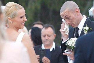 «Λύγισε» ο Μπρούνο Τσιρίλο στον γάμο του με την Έλενα Ασημακοπούλου (ΦΩΤΟ) - Κυρίως Φωτογραφία - Gallery - Video