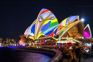 Vivid Sydney: Η μεγαλύτερη πόλη της Αυστραλίας μεταμορφώνεται σε ένα υπερθέαμα χρωμάτων (ΦΩΤΟ-ΒΙΝΤΕΟ) - Κυρίως Φωτογραφία - Gallery - Video
