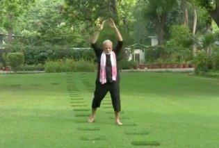 Το πιο απολαυστικό βίντεο με το πρόγραμμα της προπόνησης του 68χρονου Ινδού πρωθυπουργού - Κυρίως Φωτογραφία - Gallery - Video