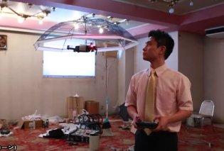 Ιάπωνες κατασκεύασαν ομπρέλα - drone που προσφέρει σκιά πάνω από το κεφάλι του κατόχου της (ΦΩΤΟ - ΒΙΝΤΕΟ)  - Κυρίως Φωτογραφία - Gallery - Video