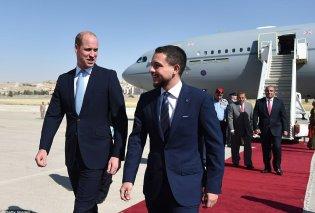 Ποδοσφαιρόφιλοι πρίγκιπες! O William βλέπει Μουντιάλ μαζί με τον διάδοχο του θρόνου της Ιορδανίας (ΦΩΤΟ) - Κυρίως Φωτογραφία - Gallery - Video