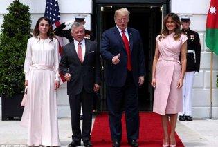 To κουίζ της ημέρας: Η Ράνια της Ιορδανίας ή η Μελάνια Τραμπ κερδίζει σε κομψότητα στον κόσμο των fashionistas; Εγώ λέω η... (ΦΩΤΟ-ΒΙΝΤΕΟ) - Κυρίως Φωτογραφία - Gallery - Video
