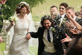 O Jon Snow παντρεύτηκε! Το ζευγάρι των πρωταγωνιστών του Game of Thrones, Kit Harington & Rose Leslie ενώθηκε σε κάστρο του 12ου αιώνα στη Σκωτία (ΦΩΤΟ) - Κυρίως Φωτογραφία - Gallery - Video