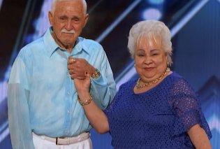 Πρέπει να το δείτε οπωσδήποτε: Ηλικιωμένο ζευγάρι ξετρέλανε το «Αμερική έχεις Ταλέντο» με τον σέξι χορό του (ΦΩΤΟ - ΒΙΝΤΕΟ)  - Κυρίως Φωτογραφία - Gallery - Video