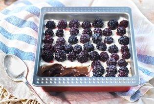 Λαχταριστή πρόταση από την μοναδική Αργυρώ Μπαρμπαρίγου! Εύκολο γλυκό ψυγείου σοκολάτα-κρέμα - Κυρίως Φωτογραφία - Gallery - Video