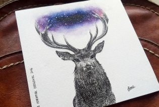 Καλλιτέχνης μεταφέρει τη φαντασία του πάνω στο χαρτί και δημιουργεί απίστευτα στιγμιότυπα από μελάνη (ΦΩΤΟ)   - Κυρίως Φωτογραφία - Gallery - Video
