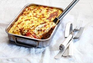 Υπέροχη συνταγή από την Αργυρώ Μπαρμπαρίγου! Κανελόνια με κιμά κοτόπουλου & εύκολη κρέμα τυριού - Κυρίως Φωτογραφία - Gallery - Video