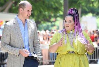 12 Points: Ο Πρίγκιπας Ουίλιαμ συνάντησε τη νικήτρια της φετινής Eurovision, Netta - «Είναι πολύ κουλ τύπος» δήλωσε η Ισραηλινή (Φωτό & Βίντεο) - Κυρίως Φωτογραφία - Gallery - Video