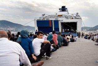 Πρόσφυγας κρυμμένος σε βαλίτσα προσπάθησε να φύγει από τη Μυτιλήνη - Κυρίως Φωτογραφία - Gallery - Video
