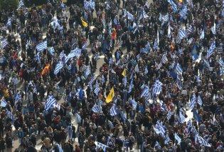 Συλλαλητήριο σε λίγο για την συμφωνία με τα Σκόπια: Να μην πάει ο Τσίπρας στις Πρέσπες  - Κυρίως Φωτογραφία - Gallery - Video