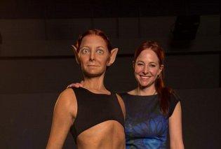 Αυτό το τέρας είναι η Mrs Perfect: Αυτιά νυχτερίδας, δέρμα βατράχου, έγκυος σαν καγκουρό - Οι επιστήμονες έφτιαξαν την τέλεια γυναίκα! (ΦΩΤΟ) - Κυρίως Φωτογραφία - Gallery - Video