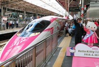 Αυτό το τρένο δεν μοιάζει με κανένα άλλο: Ολόκληρο bullet train αφιερωμένο στη Hello Kitty (ΦΩΤΟ-ΒΙΝΤΕΟ) - Κυρίως Φωτογραφία - Gallery - Video