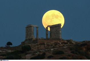 Το «ματωμένο φεγγάρι» στον ουρανό της Ελλάδας ήταν όμορφο & κόκκινο (φωτο) - Κυρίως Φωτογραφία - Gallery - Video
