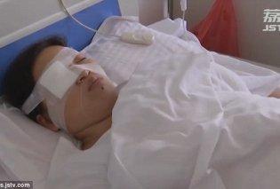 Αφαίρεσαν σκουλήκι μέσα από το μάτι γυναίκας - Της αρέσει να τρώει ωμά ερπετά! (Φωτό & Βίντεο) - Κυρίως Φωτογραφία - Gallery - Video
