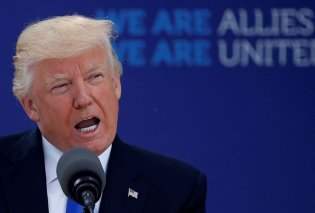 Ο Ντόναλντ Τραμπ απείλησε με αποχώρηση των ΗΠΑ από το ΝΑΤΟ: «Μπορούμε να φύγουμε, αλλά...» - Θέλει αύξηση των αμυντικών δαπανών - Κυρίως Φωτογραφία - Gallery - Video