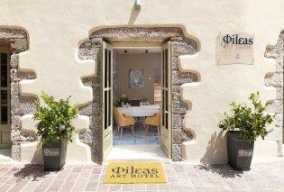 Fileas Art Hotel: Funky διακόσμηση & σύγχρονος εξοπλισμός για τις πιο απολαυστικές διακοπές στην Παλιά Πόλη των Χανίων - Είναι & pet friendly! - Κυρίως Φωτογραφία - Gallery - Video