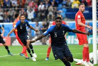 Μουντιάλ 2018: Η Γαλλία προκρίθηκε στον τελικό - Νίκησε με 1-0 το Βέλγιο (Βίντεο) - Κυρίως Φωτογραφία - Gallery - Video