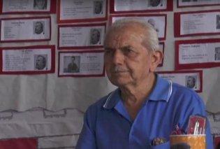 Good news: 83χρονος στην Πάτρα πήρε απολυτήριο Γυμνασίου - «Ευχαριστώ πολύ τους καθηγητές μου, θα χρησιμεύσουν όσα έμαθα» - Κυρίως Φωτογραφία - Gallery - Video